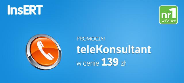 telekonsultant promo 6 - 31 lipca